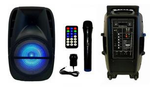 Parlante Karaoke Portátil Targus 12 Bluetooth Con Micrófono