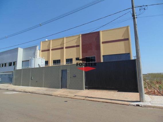 Galpão À Venda, 980 M² Por R$ 1.600.000 - Jardim Cedros - Santa Bárbara D