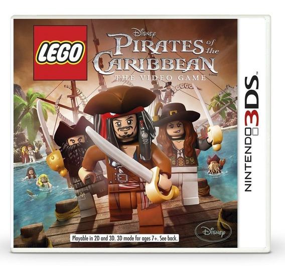 Jogo Lacrado Lego Disney Piratas Do Caribe Nintendo 3ds