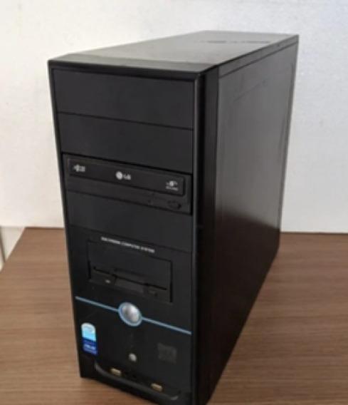 Desktop Pc Intel Dual Core Ddr2 4gb Hd 500gb