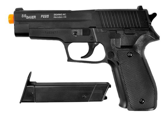Pistola Airsoft Spring Cybergun Sig Sauer P226 Slide Metal
