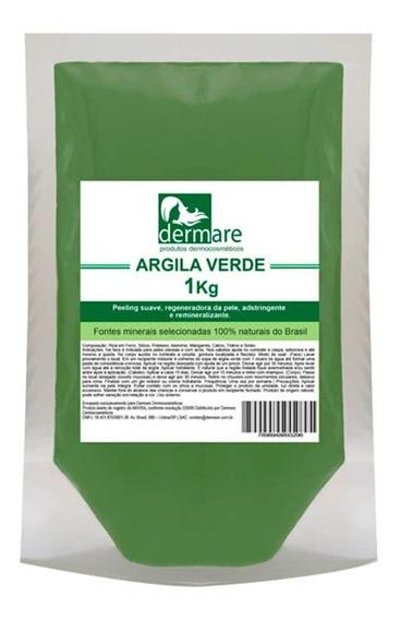 Argila Verde 1kg - Dermare