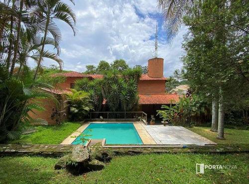 Casa Com 4 Dormitórios À Venda, 532 M² Por R$ 1.590.000,00 - Recanto Impla - Carapicuíba/sp - Ca0594
