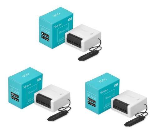 Sonoff Mini Interruptor Bidireccional Conmutable Pack X 3