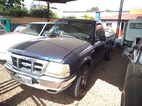 Ford Ranger - Cabine Simples - Longa - 4 X 4