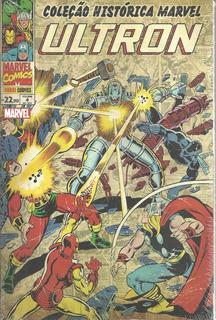 Colecao Historica Marvel Ultron 04 Bonellihq Cx101 H19
