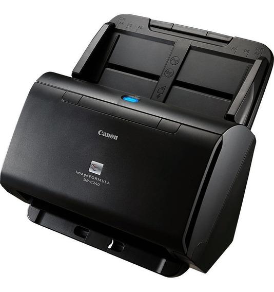 Scanner De Mesa Canon Dr-c240 Usb Preto
