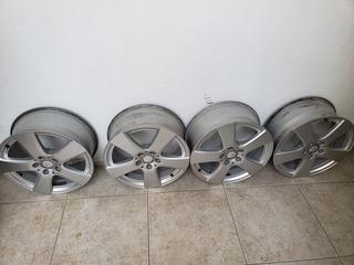 4 Rines Originales 17 Mercedes Benz Con Centros 5 112