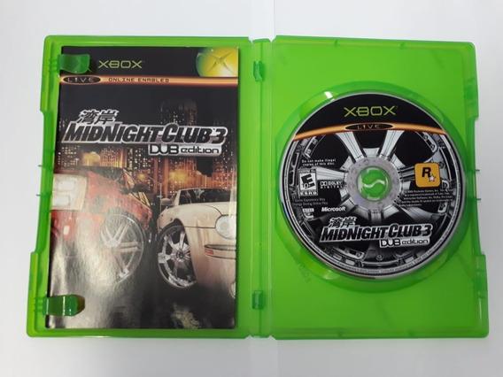 Jogo De Xbox 1 Mid Night Club 3 Jsa