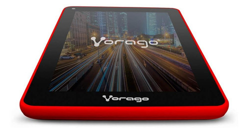 """Tablet  Vorago Pad-7 V5 7"""" 16GB roja con 1GB de memoria RAM"""