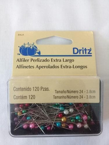 Alfiler Perlizado Extra Largo Dritz
