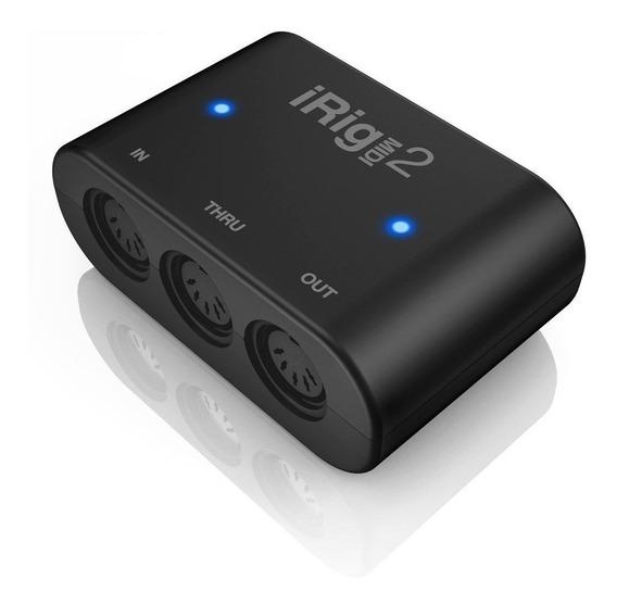 Irig Midi 2 - Interface Midi Universal - Envio 24h