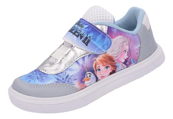 Tênis Infantil Frozen Elsa E Anna Menina Promoção Barato