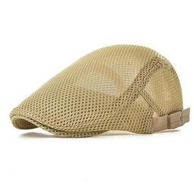 Voboom Men Malla Transpirable Sombrero De Verano Ajustable N