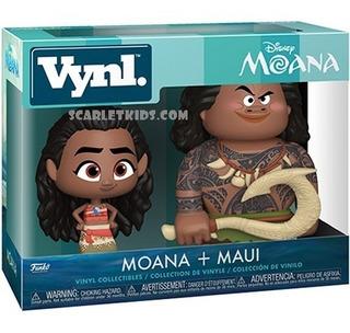 Funko Vynl Moana + Maui Disney Original Funko Scarlet Kids