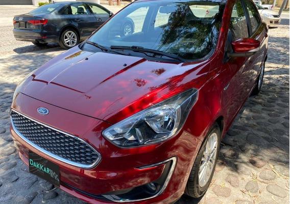 Ford Figo Titanium Color Vino 2019 Automático Dakkar