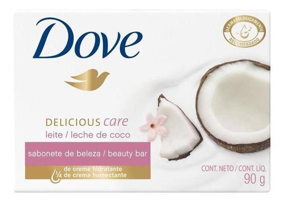 Sabonete Dove Delicious Care Leite De Coco 90g