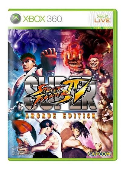 Street Figther Iv Arcade Edition - Xbox 360 - Usado Original