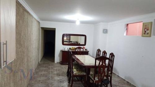 Imagem 1 de 30 de Sobrado Com 3 Dormitórios À Venda, 250 M² Por R$ 750.000,00 - Vila Alzira - Santo André/sp - So0396
