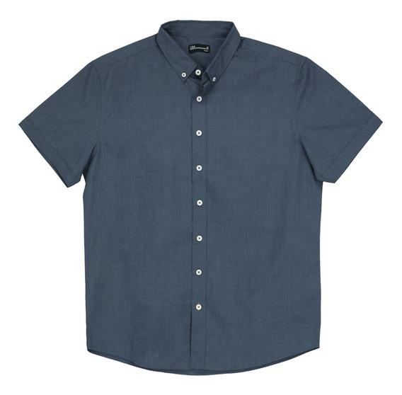 Camisa Cuello Button Down De Hombre C&a 1055344