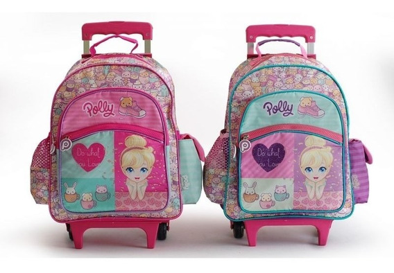 Mochila Con Carro Polly Pocket