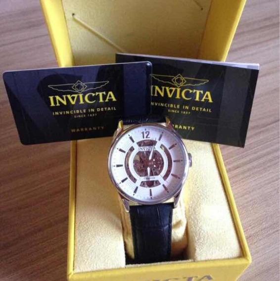 Relógio Invicta Objet D Art 22594 - Pulseira Preta