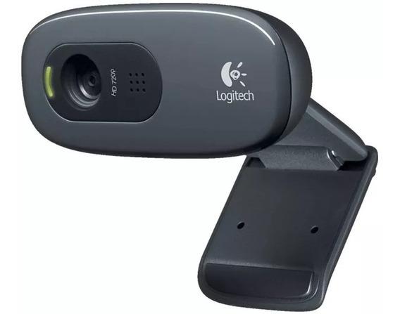 Web Cam Logitech C270 P/ Stream Hd 720p