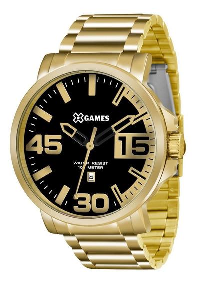 Relógio X-games Dourado Xmgs1018 P2kx -21