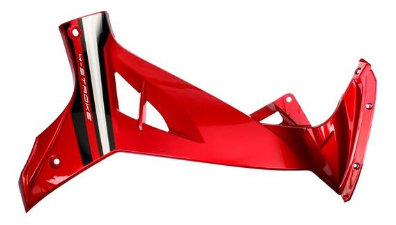 Plastico Lateral Derecho Rojo Yamaha Crypton 110 + Calco