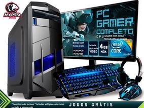 Cpu Pc Gamer Barato 4g ²core Corel Autodesk Cad3d Lol Et2 Pb