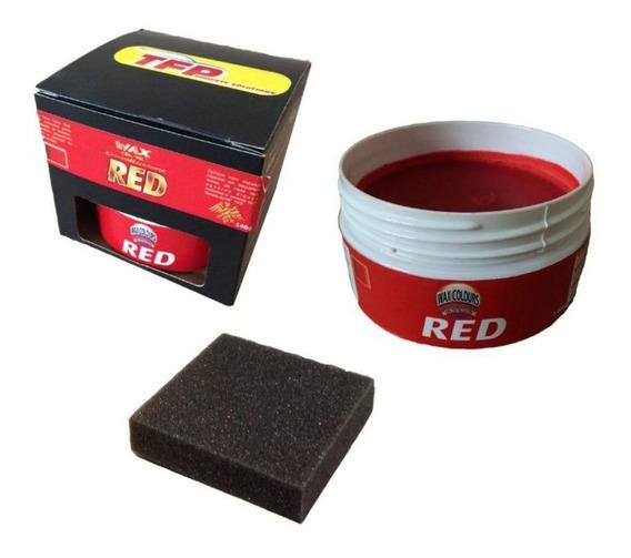 Cera Cristalizadora Carro Vermelho Wax Color Red140g