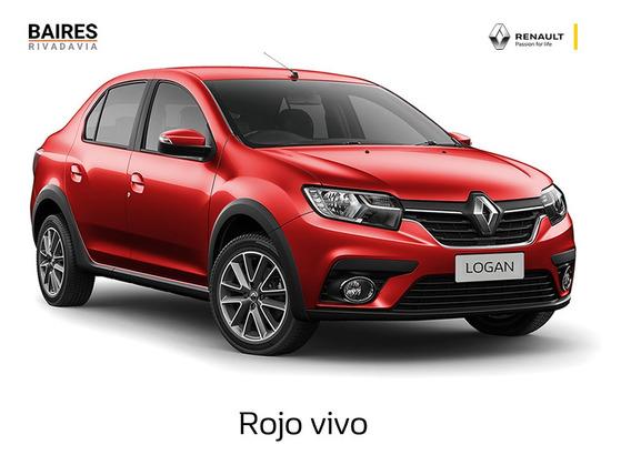 Renault Logan Zen Rojo 1.6 2020 0km Contado/financiado