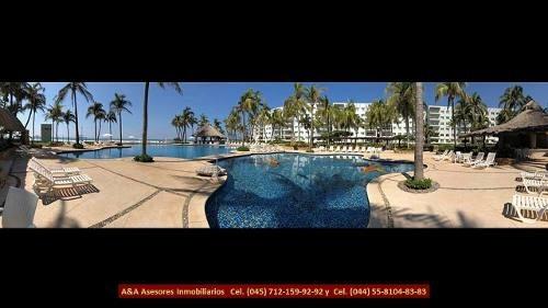 A&a Venta Departamento Sobre Playa Diamante Acapulco
