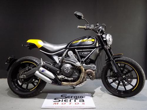 Ducati Scrambler Full Throttle Negra 2016