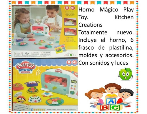 Horno Juguete Play Toy