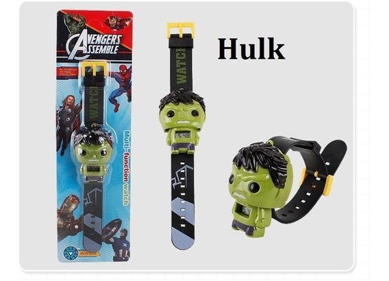 Relógio De Pulso Infantil Super Heróis Vingadores