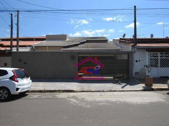 Casa Com 3 Dormitórios À Venda, 150 M² - Jardim Residêncial Firenze - Hortolândia/sp - Ca0124