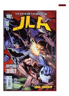 La Liga De La Justicia Jla Crisis De Conciencia 2 Vid 2006