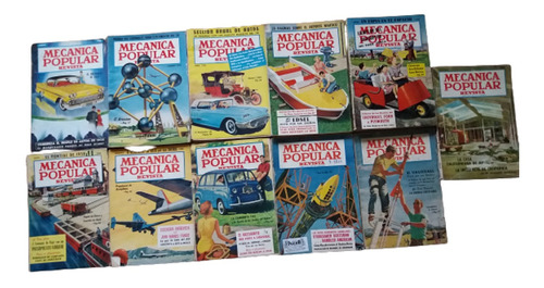 Revistas Mecánica Popular, Año 1958