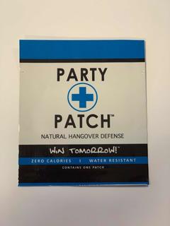 Party Patch Parche Anti Cruda Anti Resaca 5 Piezas