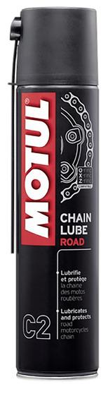 Motul C2 Chain Lube 400ml Spray Lubrificante Corrente Road