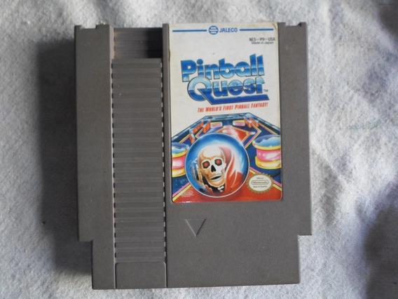 Pinball Quest Original Para Nintendo - Nes & Similares