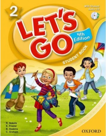Lets Go 2 Sb With Audio Cd - 4th Ed - Oxford University