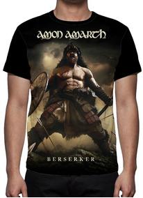 Camiseta Amon Amarth - Berserker Mod 01 - Frente