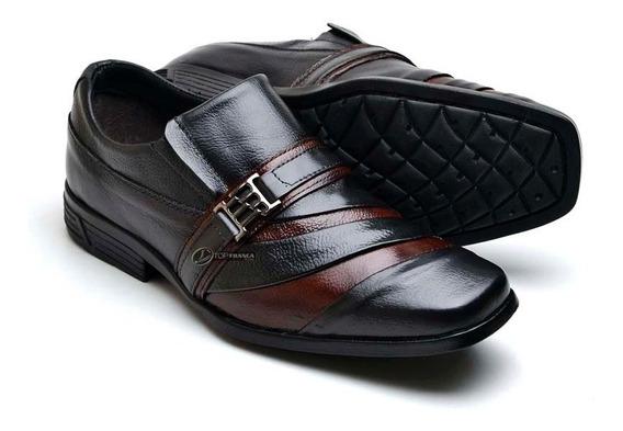 Sapato Social Masculino Couro Tamanhos Grandes 37 Ao 48