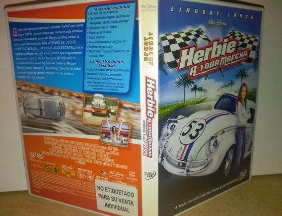 Cupido Motorizado Dvd Herbie A Toda Marcha Lohan Disney