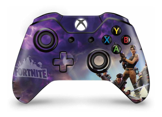 Skin Controle Xbox One Fat Fortnite Battle Royale - 2 Und