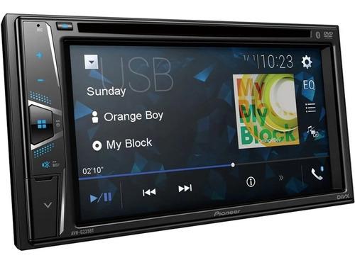 Imagen 1 de 8 de Estereo Pioneer Avh 225 Bluetooth Pantalla Tactil Dvd Usb Cd