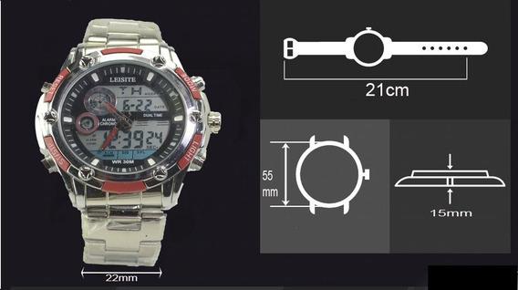 Relógio Masculino Esportivo Digital Analógico Prova D