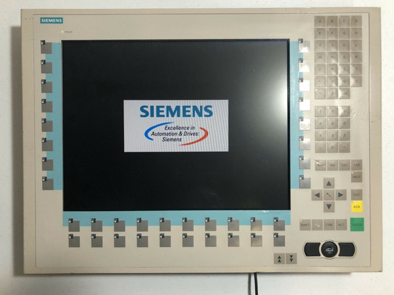 Monitor Lcd Siemens Painel Scd 1597-k 6av8100-1bc00-0aa1